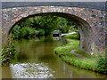 SJ6151 : Llangollen Canal at Stoneley Green Bridge, Cheshire by Roger  Kidd