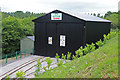 SK2406 : Statfold Barn Railway - tram shed by Chris Allen