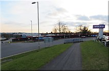 SU6252 : Houndmills Road / Brunel Road by Given Up