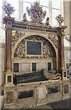 SX9292 : Monument to  Bishop William Cotton, Exeter Cathedral by Julian P Guffogg