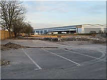SU6252 : Brown field site - Brunel Road by Given Up