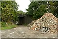 SK4441 : Bridge and bricks by Alan Murray-Rust