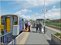 SD4364 : Morecambe Station by Mike Faherty