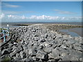 SD4364 : Morecambe, groynes by Mike Faherty