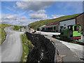 NY2213 : Slate mine, Honister Pass by Hugh Venables
