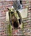 SJ8696 : A gargoyle on St Benedict's by Gerald England
