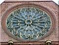 SJ8696 :  St Benedict's Rose Window by Gerald England