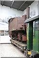 SK2406 : Statfold Barn Railway - unrestored locomotive by Chris Allen