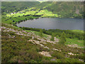 NY1715 : Looking down to Buttermere by Hugh Venables