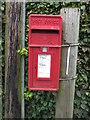 NZ2091 : Postbox at Cockle Park by Graham Robson