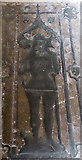SX9292 : Courtenay brass, Exeter Cathedral by Julian P Guffogg