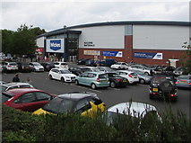 SO8555 : Wickes in Worcester by Jaggery