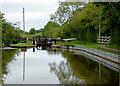 SJ6152 : Llangollen Canal near Swanley in Cheshire by Roger  Kidd