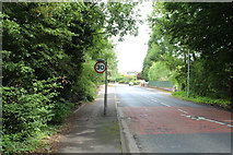 NX9575 : The Thirty Mile Limit, Dumfries by Billy McCrorie