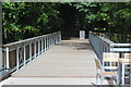 ST1177 : Footbridge, Gweithdy, St Fagans National History Museum by M J Roscoe