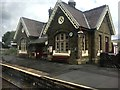 SD8072 : Horton in Ribblesdale railway station by Graham Hogg