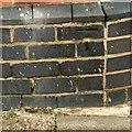 SK4235 : Bench mark, 37 Church Street, Ockbrook by Alan Murray-Rust