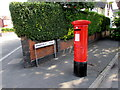 ST1479 : King George V pillarbox, Wingfield Road, Whitchurch, Cardiff by Jaggery