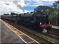 NY6820 : 46115 Scots Guardsman at Appleby railway station by Graham Hogg