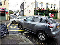 H4472 : Busy junction along John Street, Omagh by Kenneth  Allen