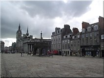 NJ9406 : Castlegate and the Mercat Cross by Tim Glover