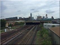 TQ2976 : Waterloo line by Alan Hughes