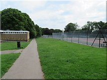 SU6050 : Stratton Park tennis courts by Given Up