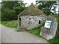 SK1463 : Croatian round-house on the Tissington Trail, near Parsley Hay by Christine Johnstone