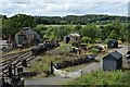 NZ2154 : Beamish colliery sidings by John Myers