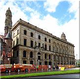 NS2876 : Greenock Municipal Buildings by Thomas Nugent