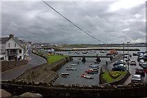 C8540 : Portrush Harbour, looking south by Robert Eva