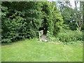 TM2360 : Footbridge on the path across Cretingham Golf Course by Chris Holifield