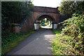 SE6251 : Sustrans at Tang Hall Lane bridge by Ian S