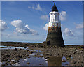 SD4254 : Plover Scar Lighthouse by Ian Taylor