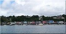 NM5055 : Tobermory waterfront by Gordon Brown