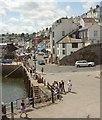 SX9256 : Brixham: The Quay by Derek Harper