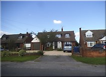 SP8200 : Houses on Main Road, Lacey Green by David Howard
