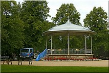 SK4642 : The bandstand, Victoria Park, Ilkeston by Alan Murray-Rust