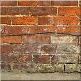 SK4641 : Bench mark, Regent Street, Ilkeston by Alan Murray-Rust