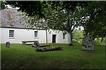NS3478 : St Mahew's Chapel, Kirkton by Alan Reid