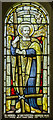 SK7565 : Stained glass window, Church of the Holy Rood, Ossington by Julian P Guffogg