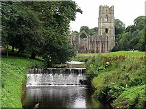 SE2768 : Fountains Abbey & River Skell by Andrew Curtis