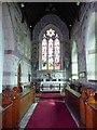 SO5204 : Chancel of Llandogo church by Philip Halling