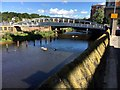 SK3587 : Footbridge over the River Don by Graham Hogg