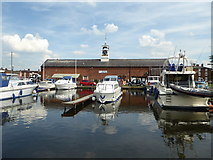 SO8171 : Warehouse, Stourport basin by Chris Allen