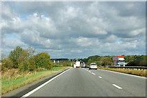 SK9322 : A1 northbound by Robin Webster
