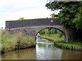 SJ6154 : Martin's Bridge north of Burland in Cheshire by Roger  Kidd