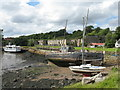 NT0683 : Charlestown Harbour and limekilns by M J Richardson