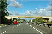 SK8935 : A1 - Low Road bridge by Robin Webster