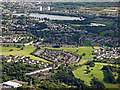 NS4563 : Paisley from the air by Thomas Nugent